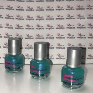 Remover à cuticules (émollient) 15 ml couleur bleu