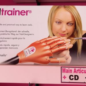 Main Articulée + 100 tips + CD + Colle etc...