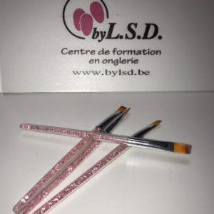 Pinceau Gel Acrylgel Acrylique Caré N°10