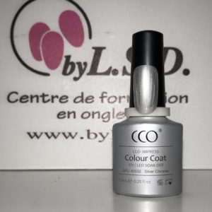 Vernis Permanent N°40532 Silver Chrome