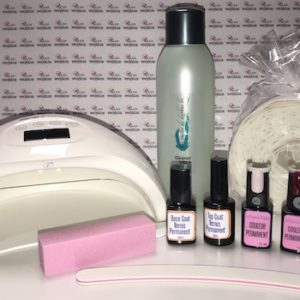Kit complet Semi permanent (vernis permanent) Lampe LED/UV