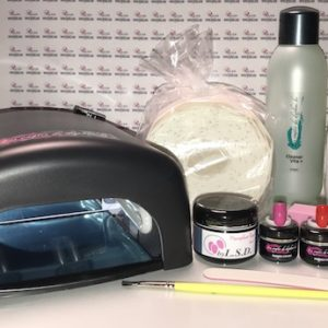 Kit complet gel uv Chablon