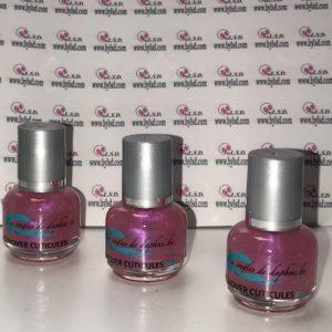 Remover à cuticules (émollient) 15 ml couleur rose