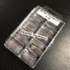 100 Tips Transparent 10 Tailles + Boite