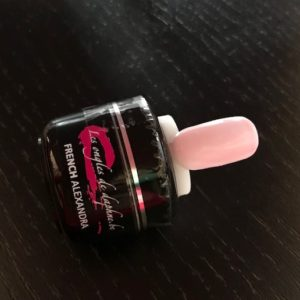 French 5 ml Nom Alexandra Couleur Rose