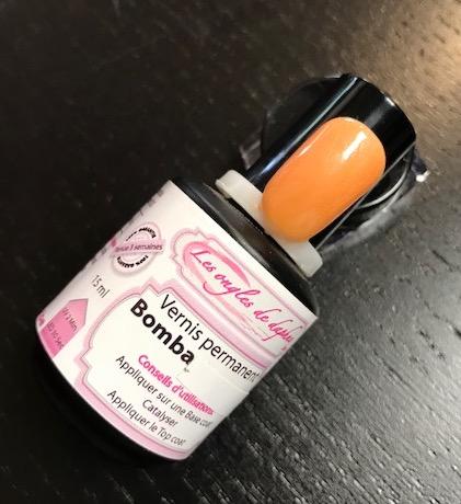 Professionnel vernis permanent Orange nacré
