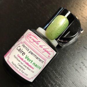 Professionnel vernis permanent Vert nacré