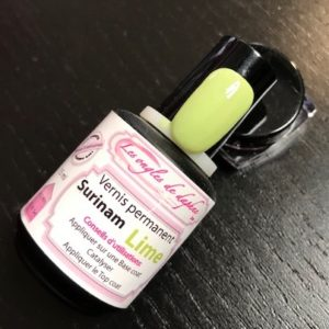 Professionnel vernis permanent Lime