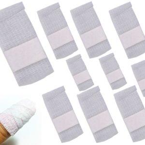 10 Wraps autocollants pour enlever le vernis permanent