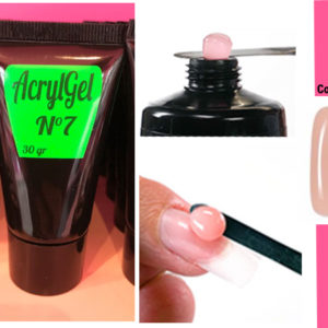AcrylGel 30 gr en tube Couleur Make Up  (Couvrant)