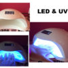 Lampe LED et UV Automatique on/off