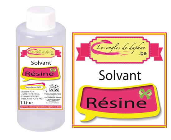 Solvant acrylique Résine Pour enlever la pose résine (acrylique)